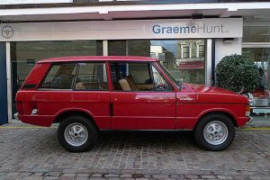 1969 Range Rover Side