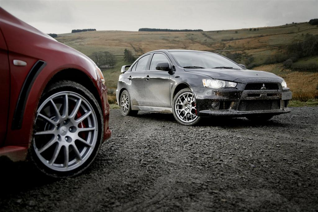 Mitsubishi Launches Lancer Evo X