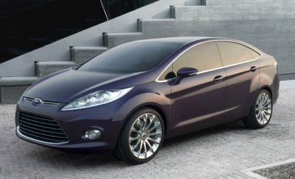New Ford Fiesta Sedan
