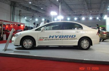 Honda Civic Hybrid Out Of Showrooms