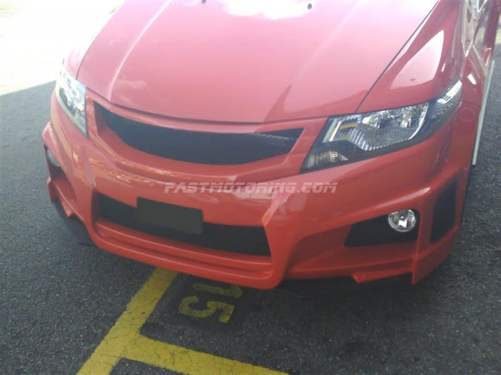 New Honda City Modified With Bodykit