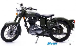 2010_Royal_Enfield_Bullet_C5_Military_Olive_Green