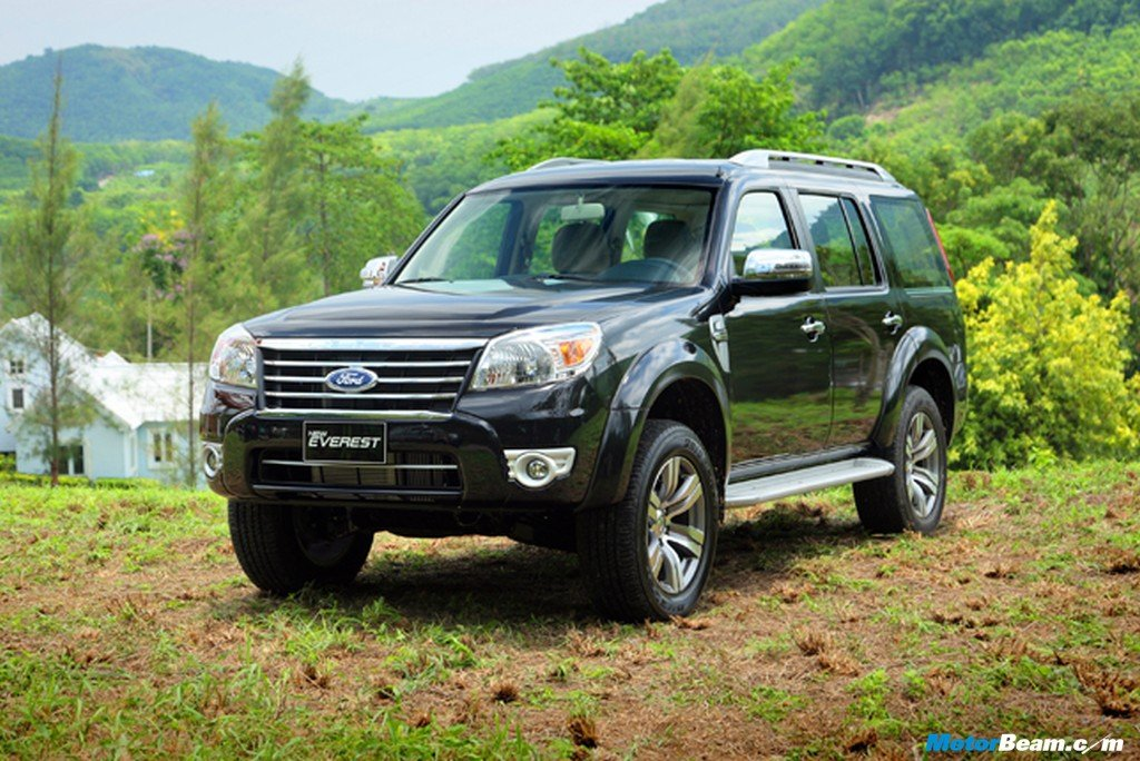 New Ford Endeavour India