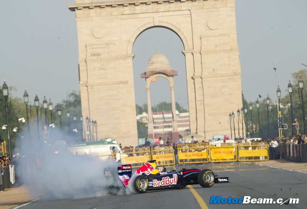 2011 Red Bull Road Show India