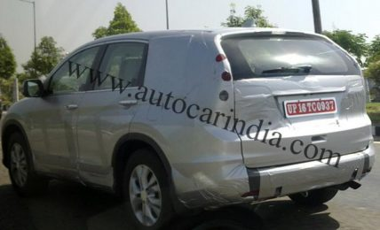 2012 CR-V Spied India