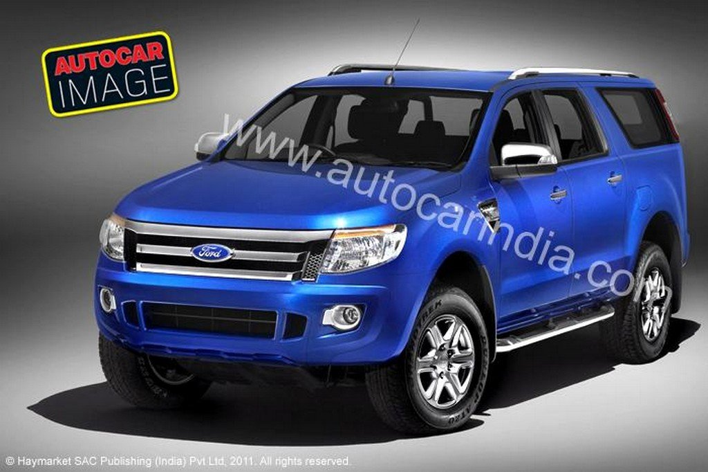 2012 Ford Endeavour front