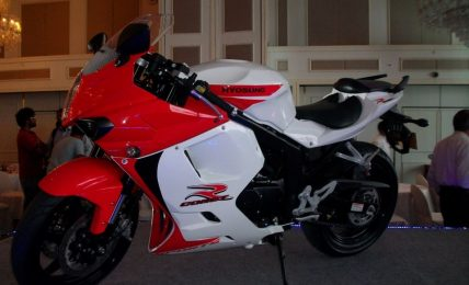 2012 Hyosung GT250R White Red