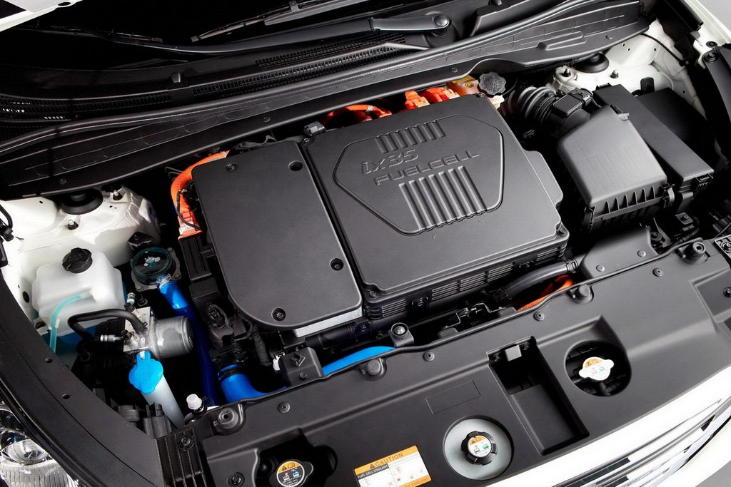 2012 Hyundai ix35 Fuel Cell Hood