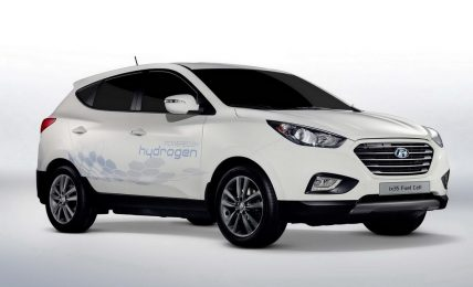 2012 Hyundai ix35 Fuel Cell Paris Motor Show