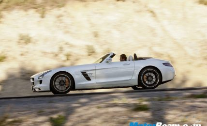 2012 Mercedes Benz SLS AMG Roadster side