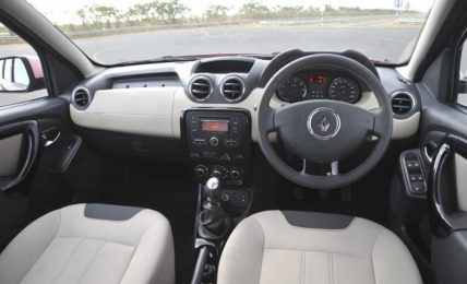 2012 Renault Duster Interiors