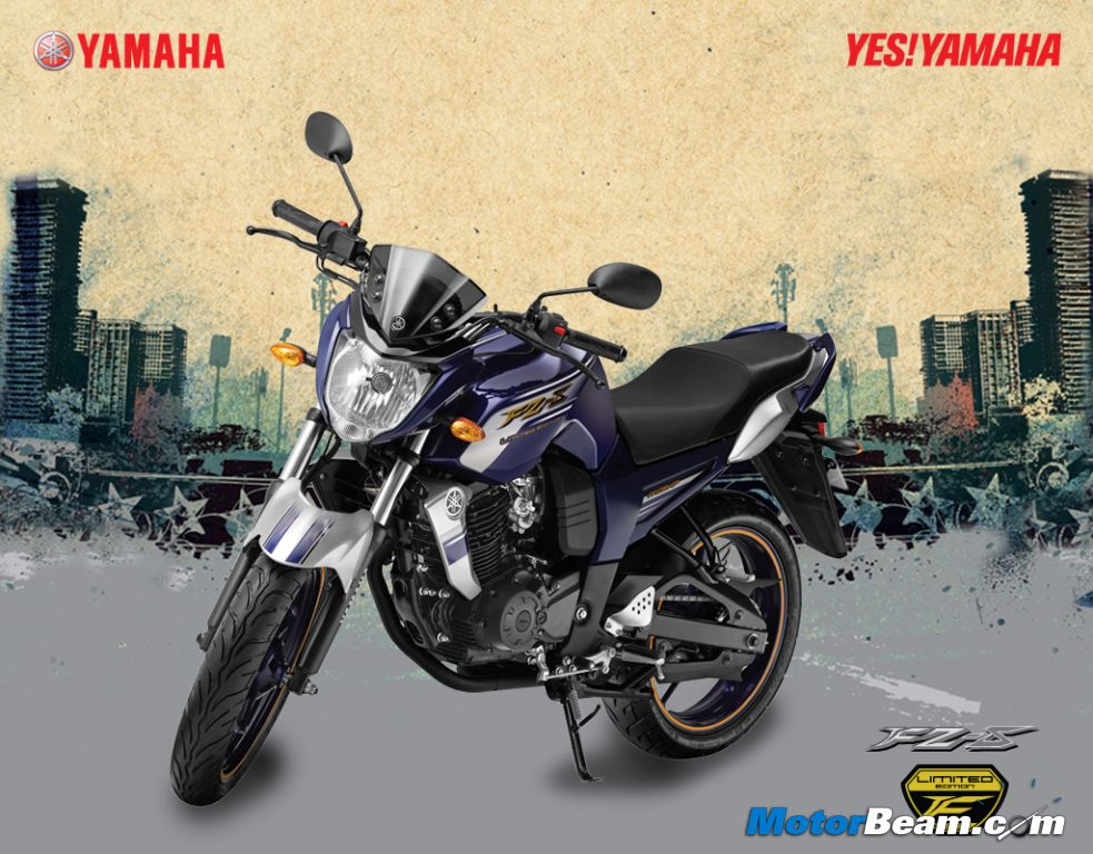 Yamaha launches special edition fz-s and fazer motorcycles team-bhp.