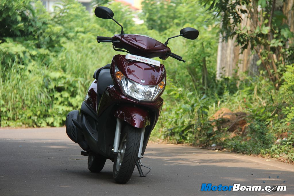 2012 Yamaha Ray Test Ride Review