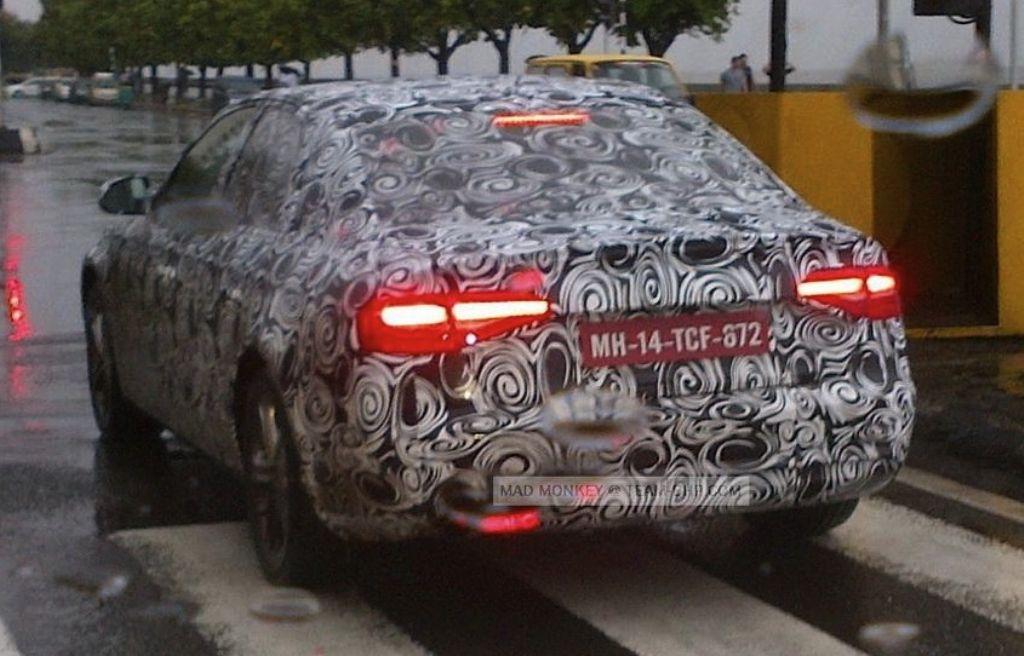 2012 Audi A4 Spied India