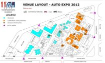 2012 Auto Expo Layout