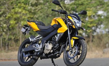 2012 Bajaj Pulsar200NS yellow front
