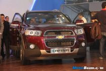 2012 Chevrolet Captiva Launch