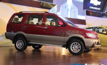 2012 Chevrolet Tavera Neo3 Launch