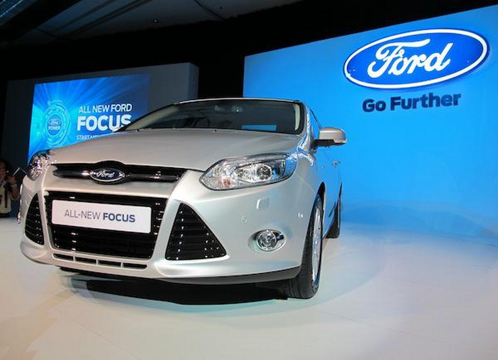 2012 Ford Focus Asia front