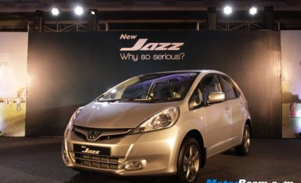 2012 Honda Jazz Facelift India