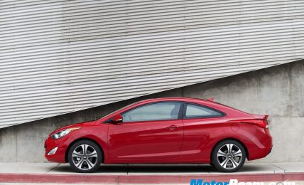 2012 Hyundai Elantra coupe side