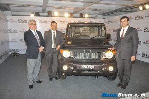 2012 Mahindra Bolero Facelift Launch