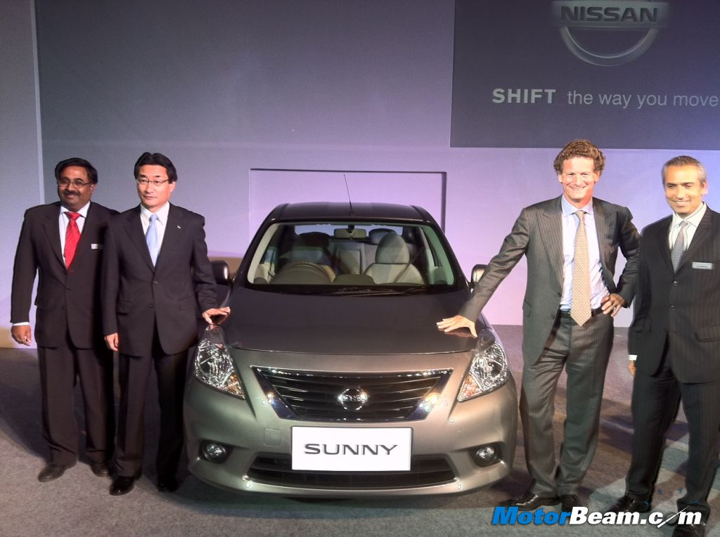 2012 Nissan Sunny Launched