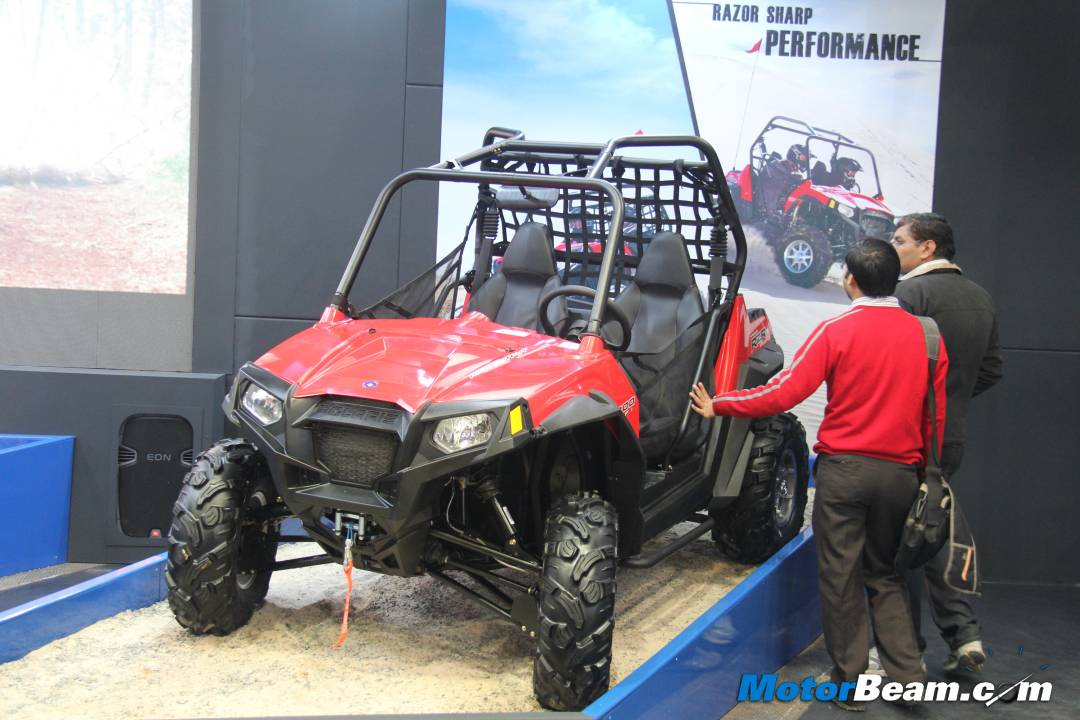 2012 Polaris Ranger RZR At 2012 Auto Expo