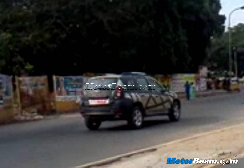 2012 Renault Duster SUV Spied India