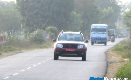 2012 Renault Duster Spied