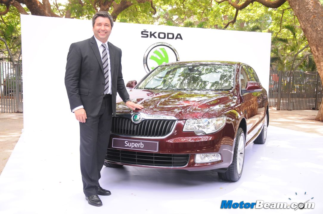 2012 Skoda Superb Ambition