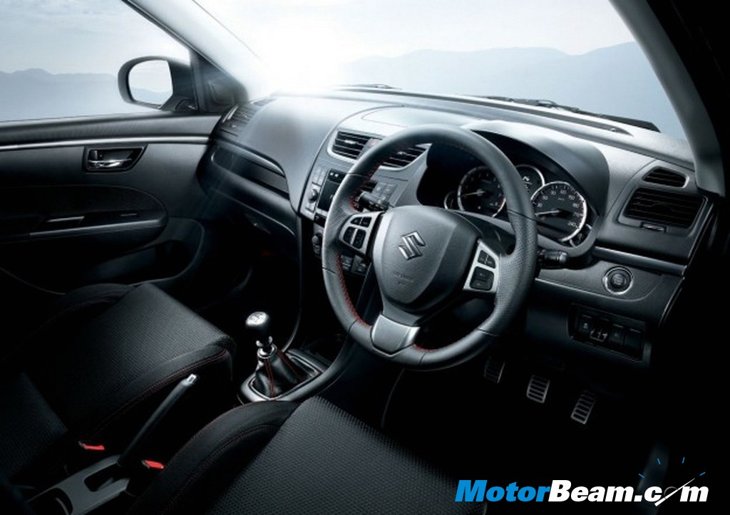 2012 Swift Sport interior