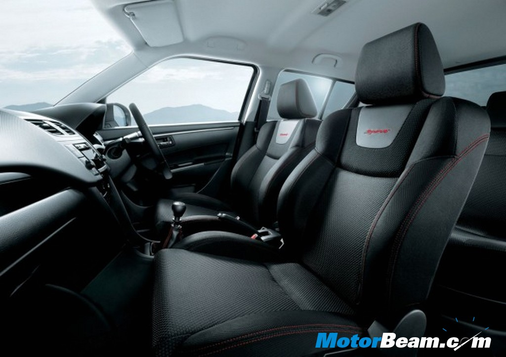 2012 Swift Sport interiors