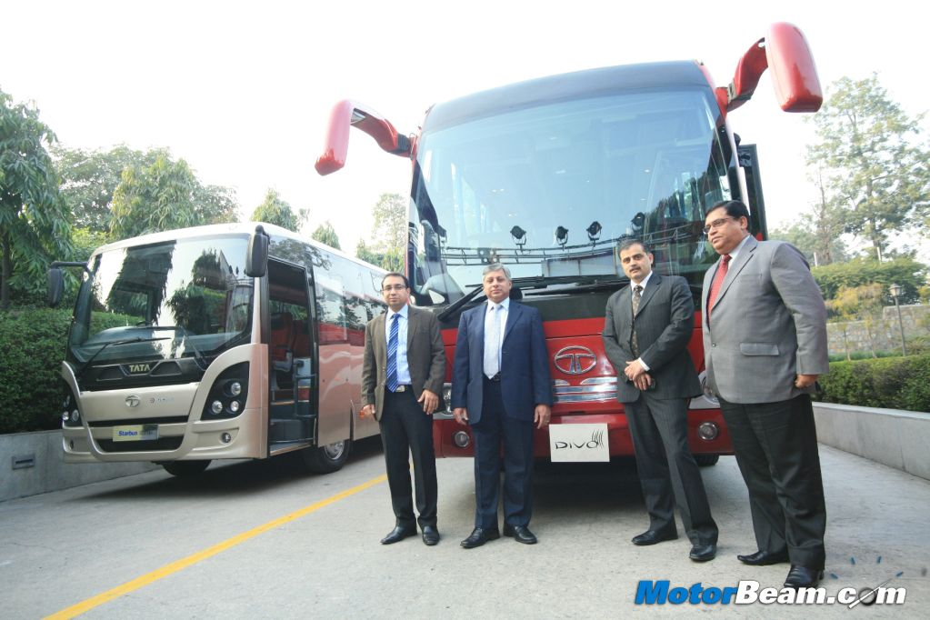 new car launches from tataTata Motors Launches Divo Luxury Coach and Starbus Ultra