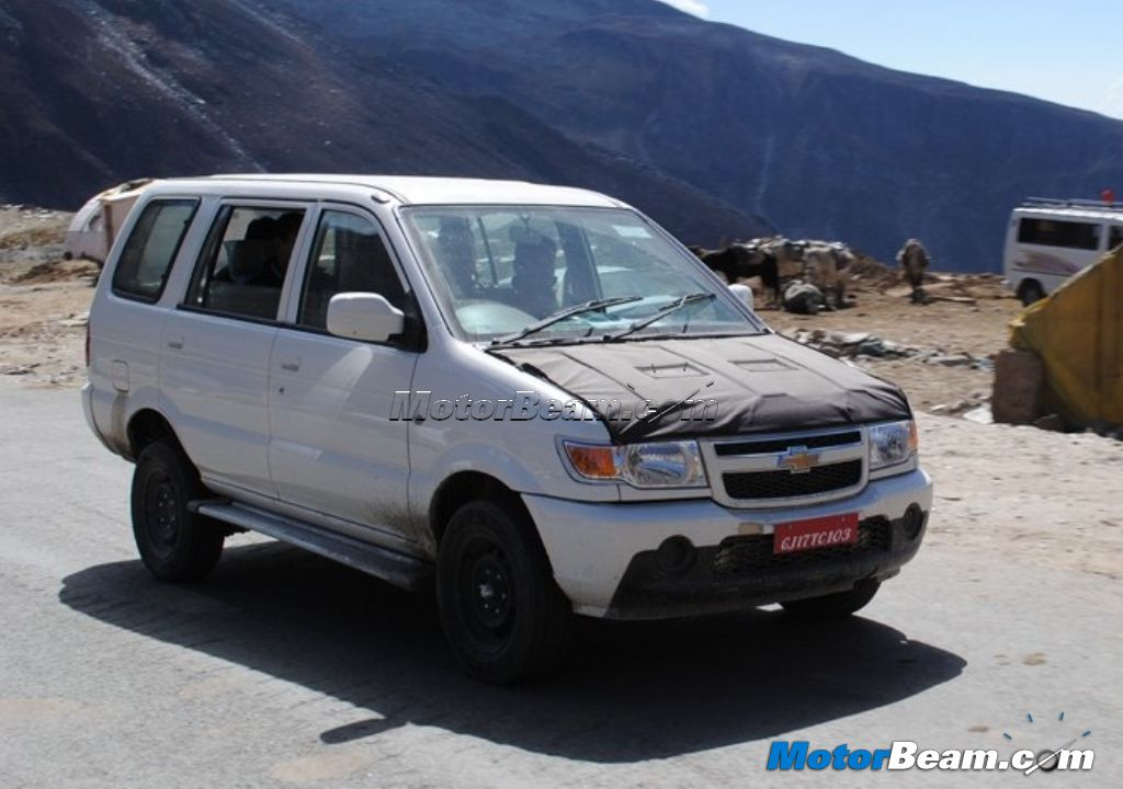 2012 Chevrolet Tavera Facelift Spied In All Its Glory