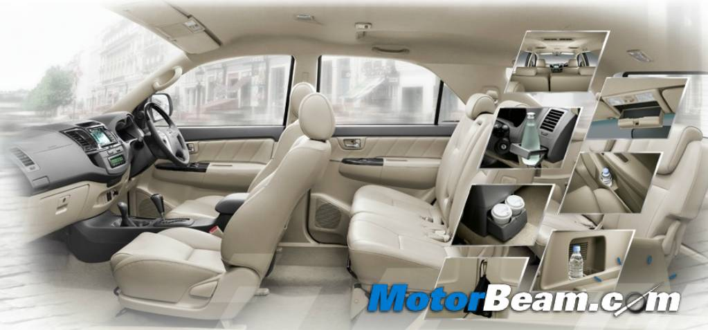 2012 Toyota Fortuner Facelift Pictures