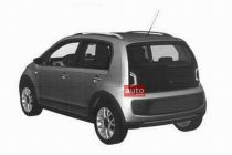 2012 VW Up! Patent rear left
