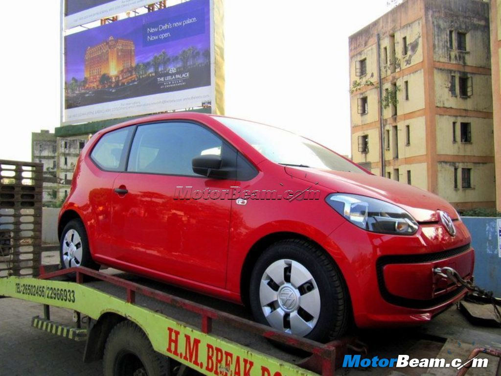 2012 Volkswagen Up Spotted India