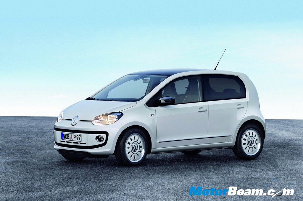 2012 Volkswagen Up exterior