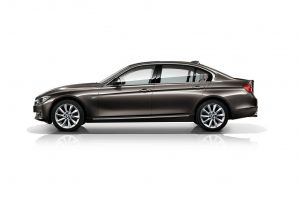 2013 BMW 3-Series LWB side