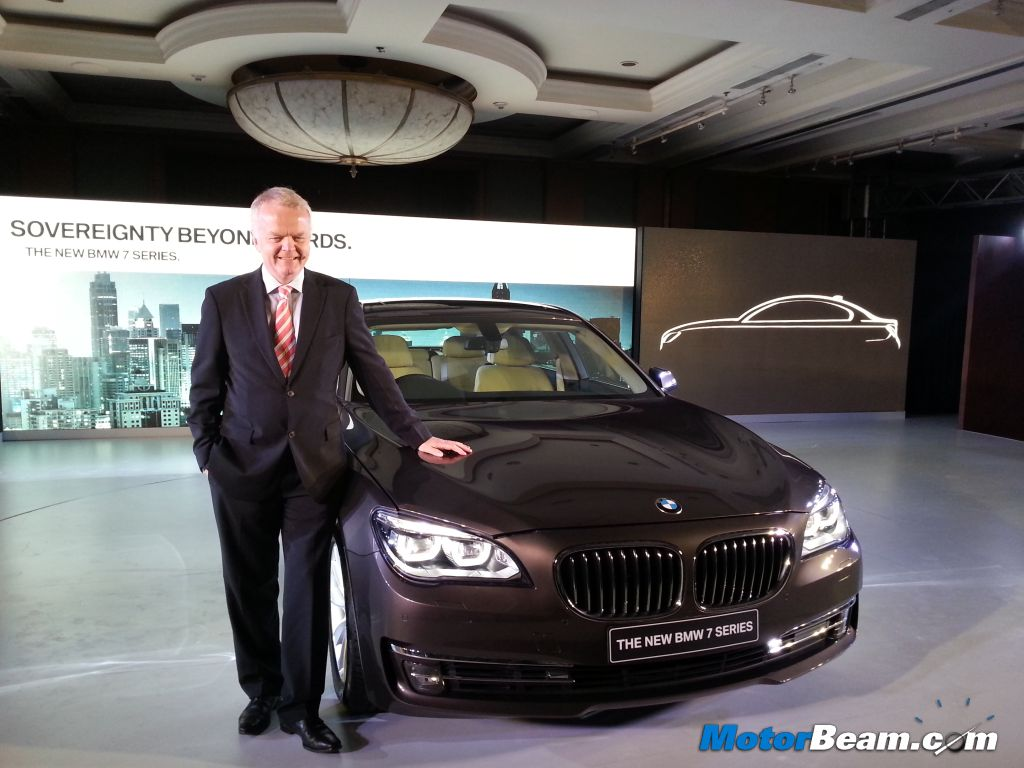 2013 BMW 7-Series Launch