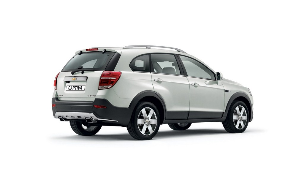 2013 Chevrolet Captiva Rear Profile