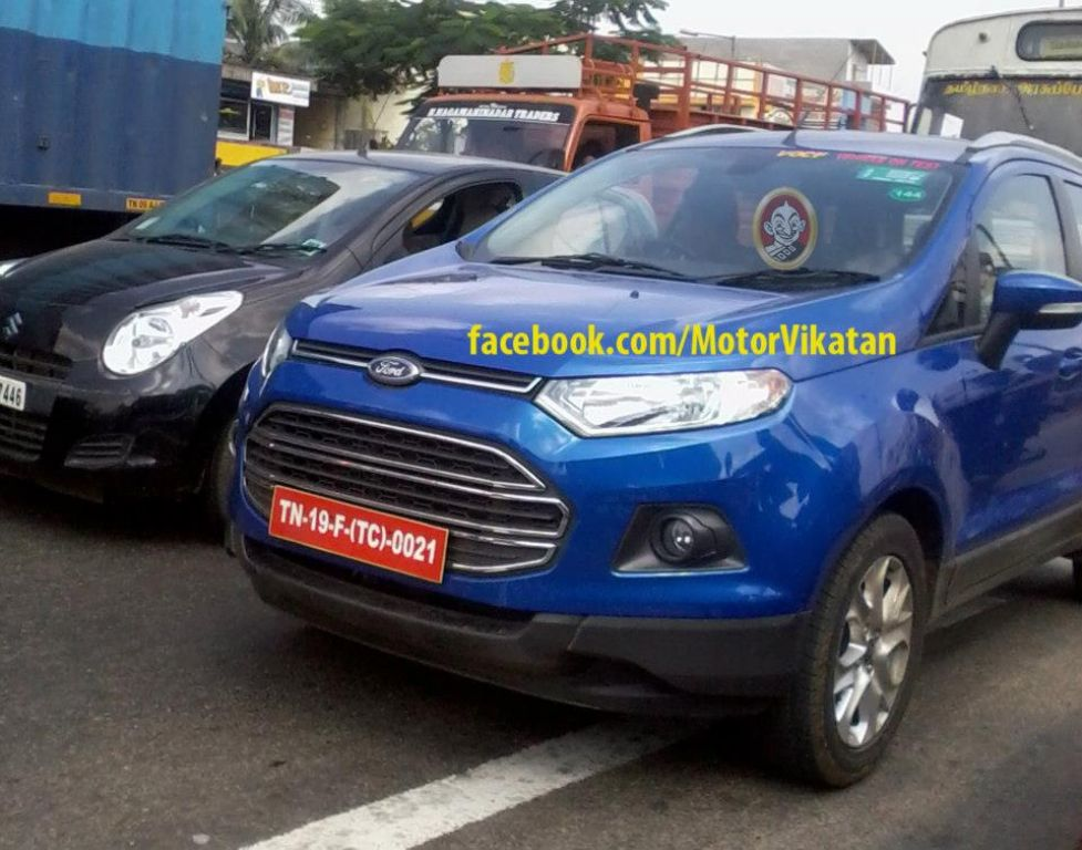 2013 Ford EcoSport Spied