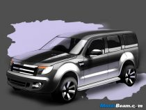 2013 Ford Endeavour SUV
