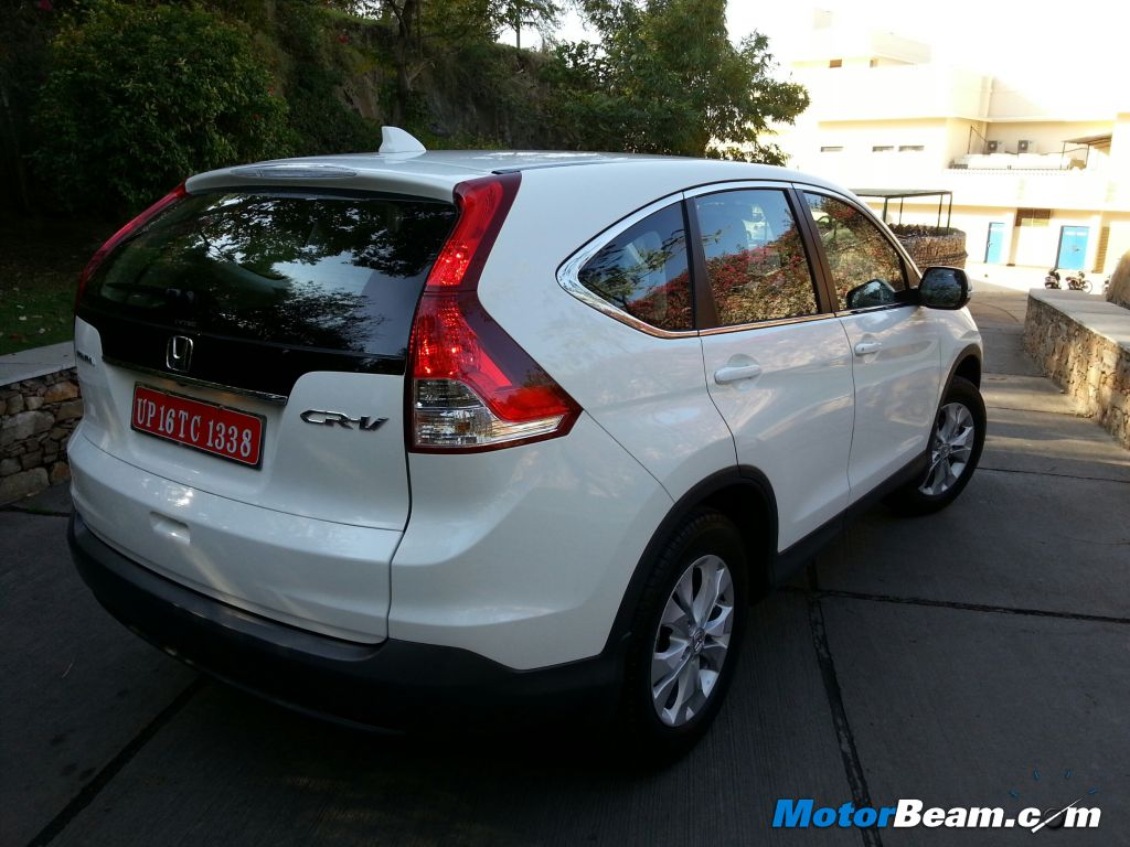 2013 Honda CR V Rear