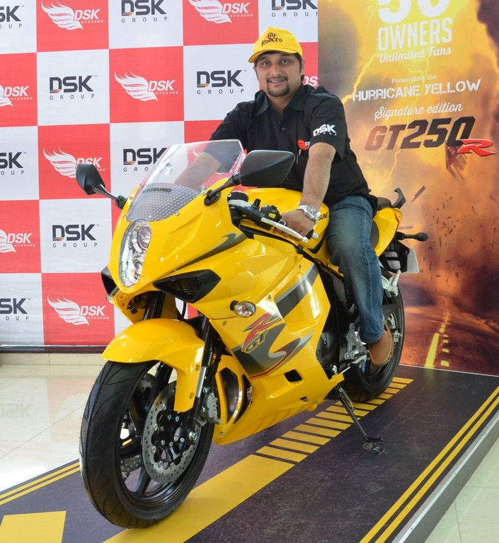 Signature Edition Hyosung GT250R Launched At Rs. 2.97 Lakhs