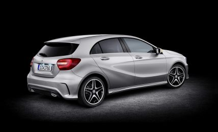 2013 Mercedes-Benz A-Class Back Angle