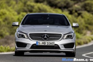 2013 Mercedes CLA Coupe Front