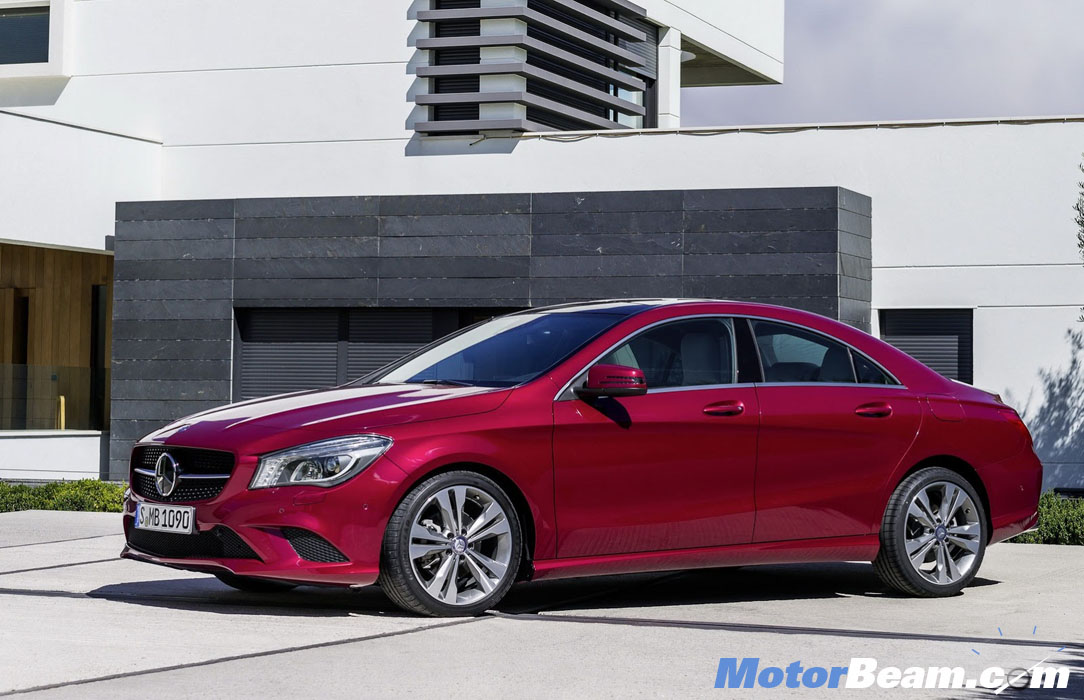 2013 Mercedes CLA Coupe Side 2