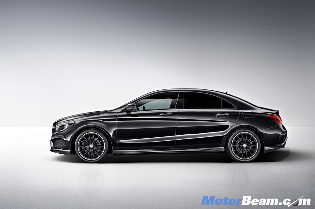 2013 Mercedes CLA Coupe Side
